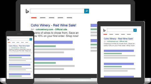 Bing Ads campagnes - adverteren op bing zoekmachine