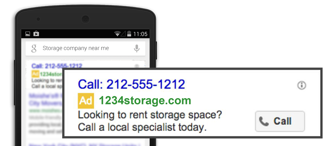 google-call-only ads