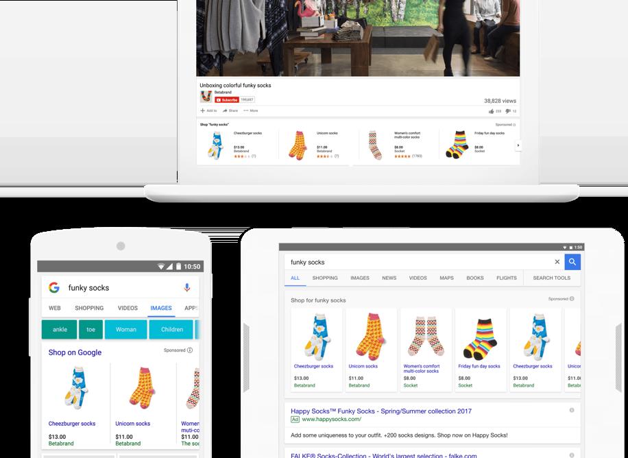 google shopping producten campagnes | online producten verkopen op Google - shift