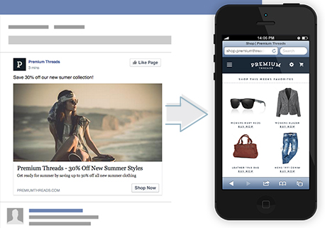 link post advertenties facebook - adverteren op facebook