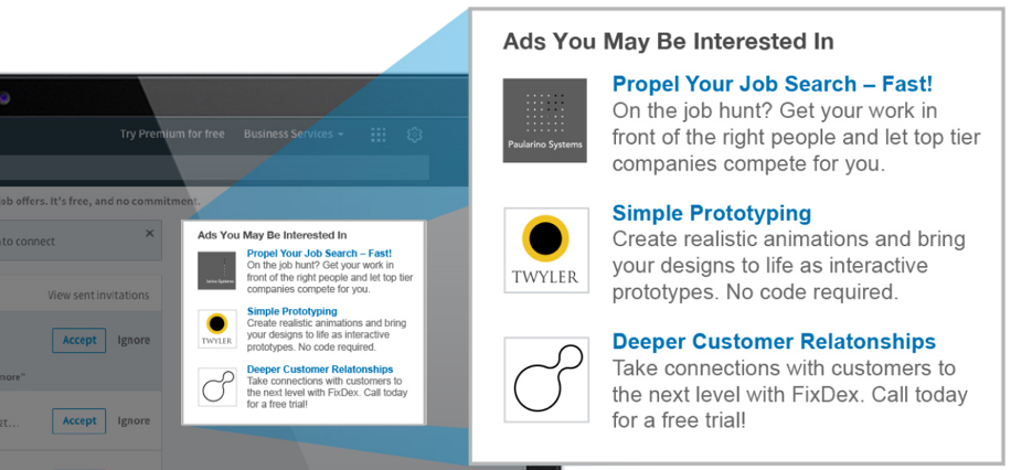 LinkedIn Text Ads - linkedin adverteren | shift