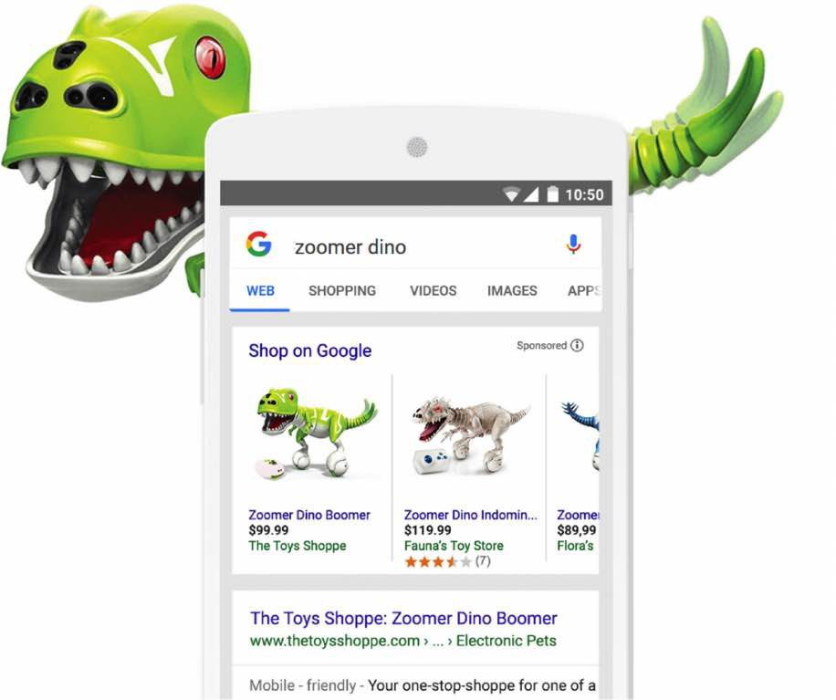 product_shopping_campagnes - adverteren op google